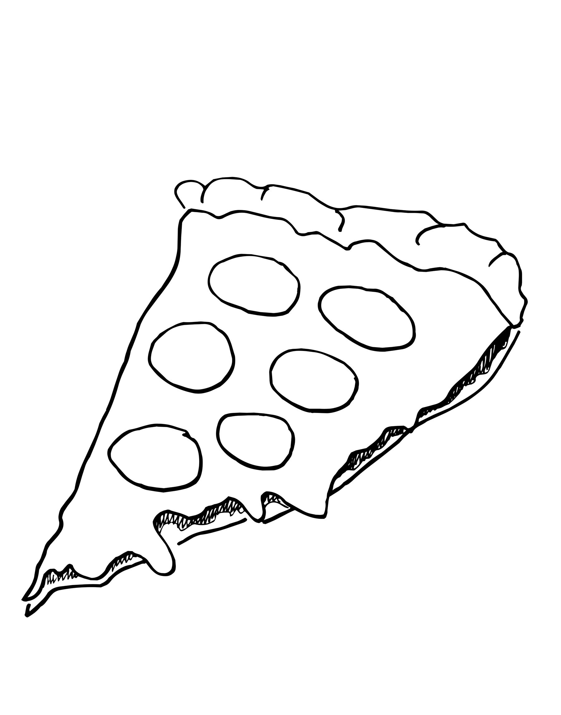1800x2294 Pizza Hut Coloring Pages
