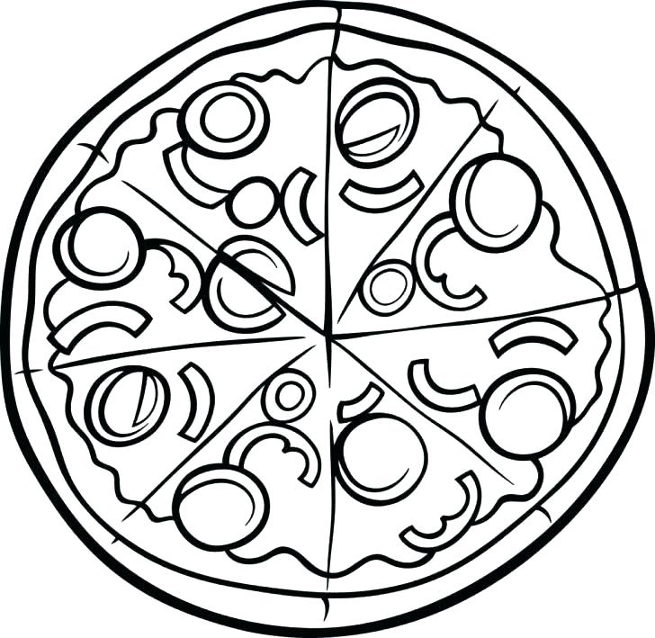 728x709 Coloring Pages Pizza Pizza Hut Coloring Pages Pizza Hut Coloring