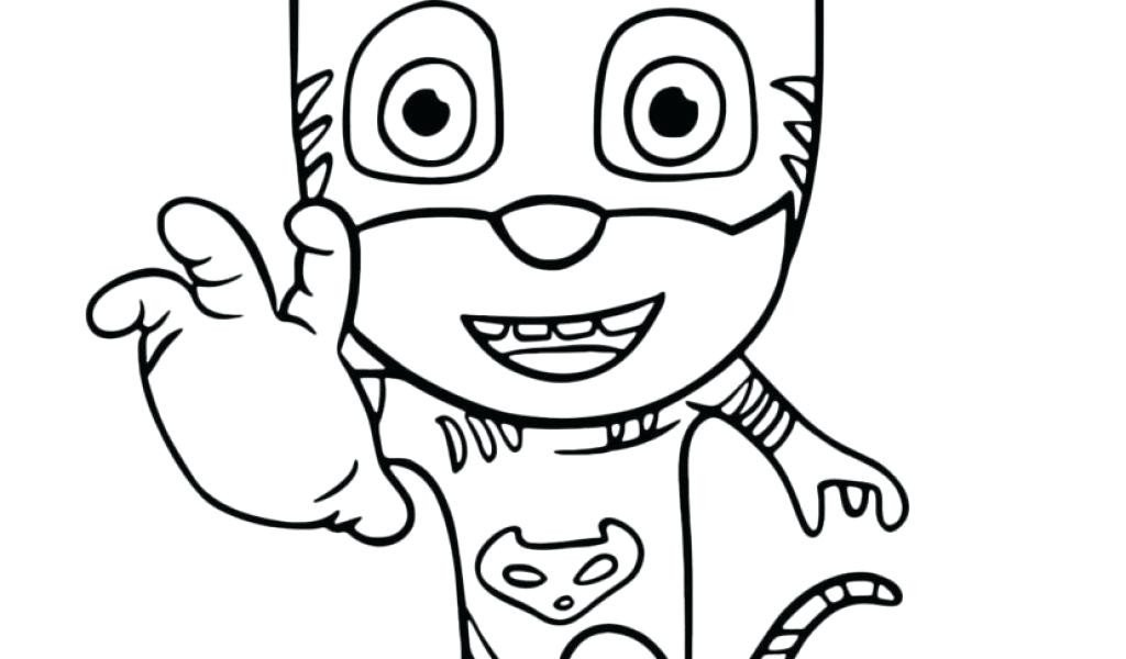1024x600 Luxury Pj Masks Coloring Pages