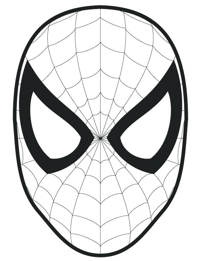 670x867 Mask Outlines The Best Face Template Ideas Feelings Pj Masks