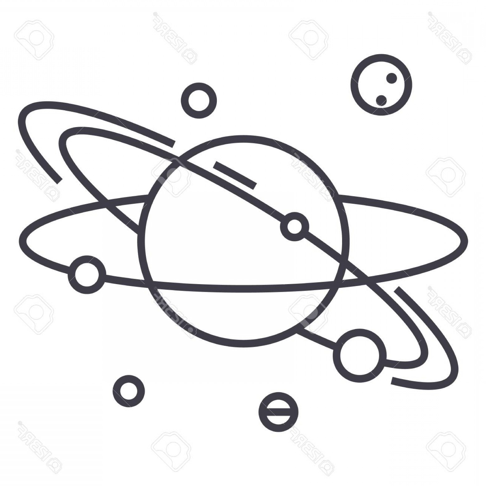 Planet drawing. Free download best on