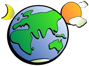 300x221 Planet Earth Clip Art Free
