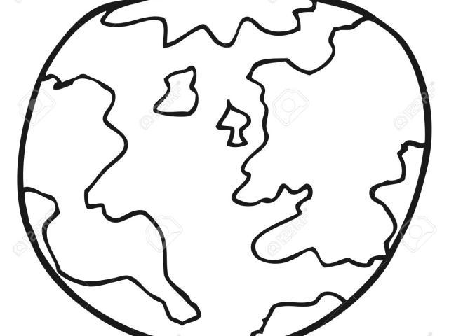 640x480 Free Drawn Planet, Download Free Clip Art
