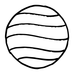 250x250 Planet Drawing Venus, Picture