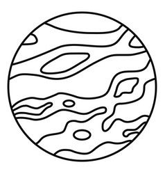 238x250 venus planet icon outline style vector planet poster pics