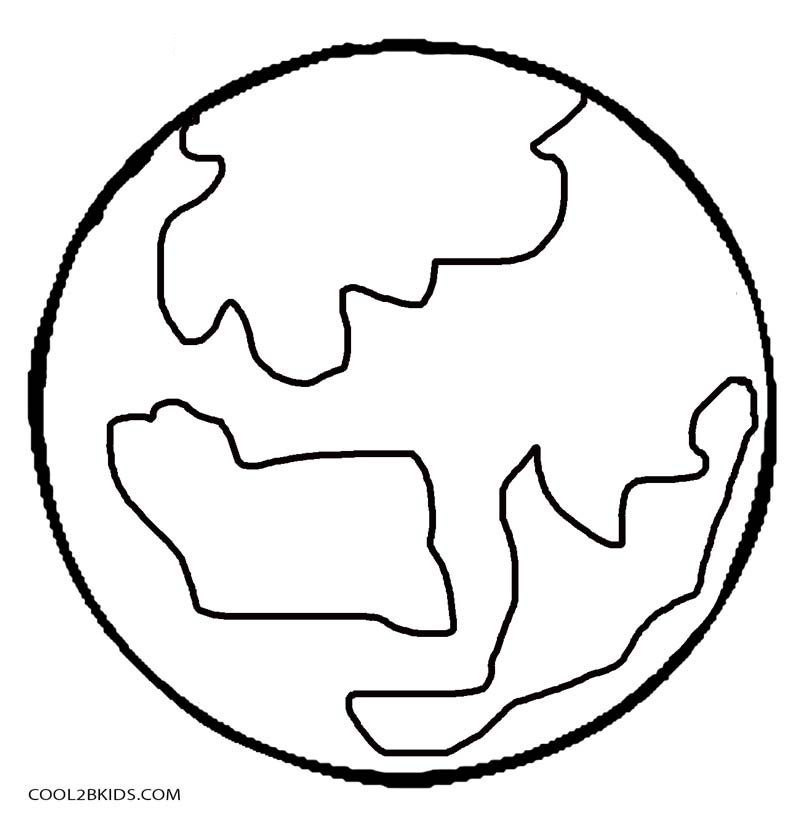 800x825 Printable Planet Coloring Pages For Kids