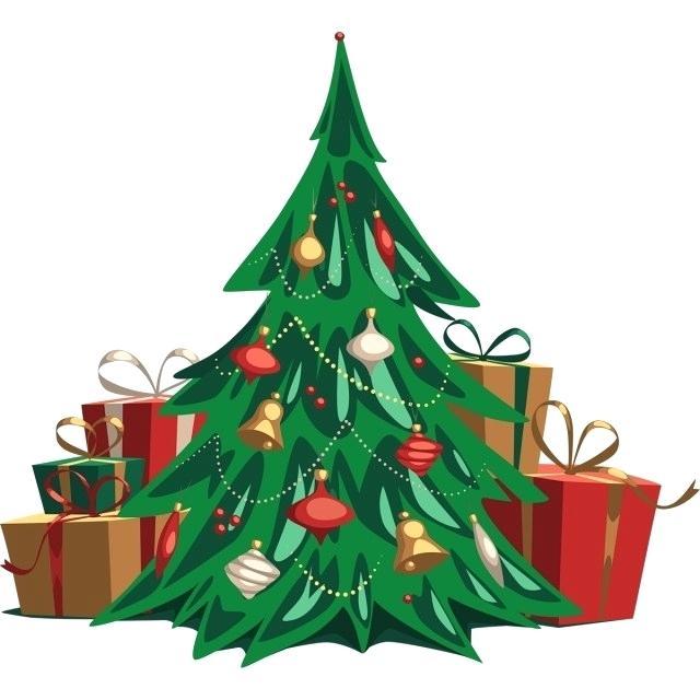 640x640 Drawn Christmas Tree Trees Xmas Tree Drawing Easy