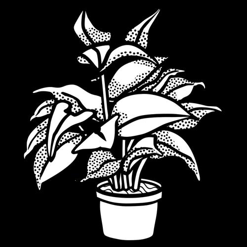 500x500 Potted Plant Symbol