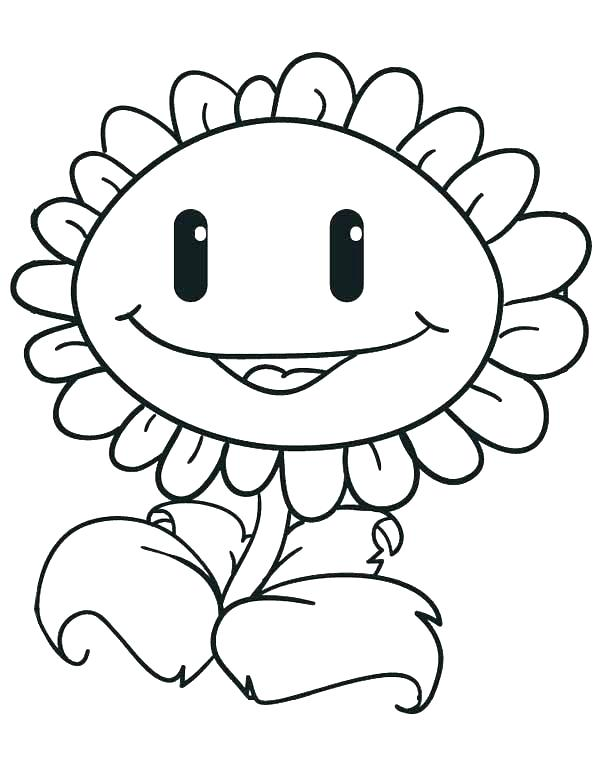 600x776 Print Plants Vs Zombies Coloring Pages Miles Birthday In Print