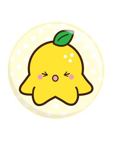 384x480 Lemon Octofruit Button Things I Want Octopus Art, Love