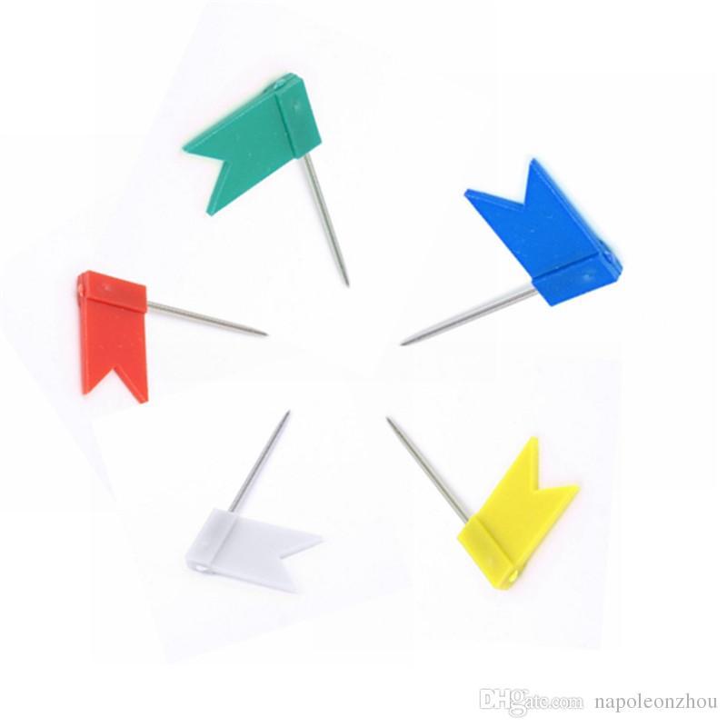 800x800 Plastic Map Label Nail Bulk Small Flag Tack Pins Mark