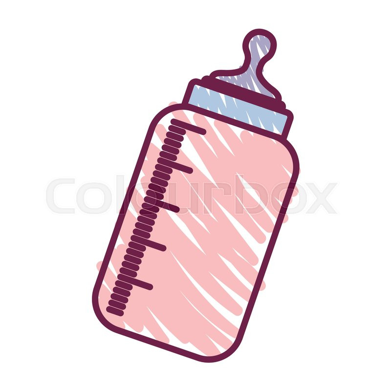 800x800 how to draw a baby bottle baby bottle icon over white background