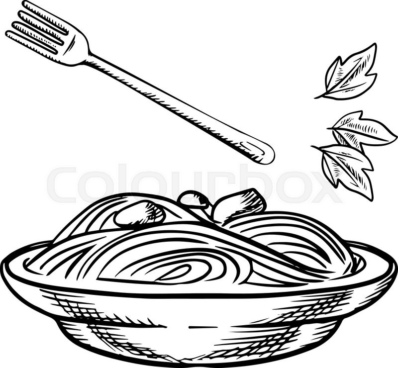 800x740 spaghetti drawing plate spaghetti for free download