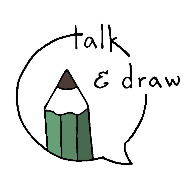 750x750 Talk Draw A Community Event Lilian Leahy Illustrations