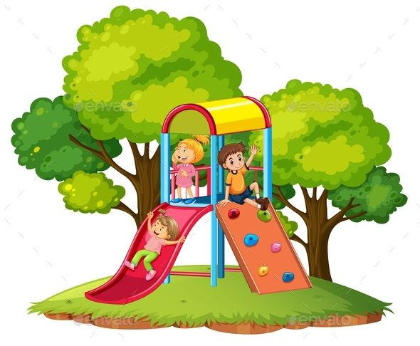 590x486 Children Play Slide