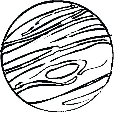 480x475 Coloring Pages Planet Pluto