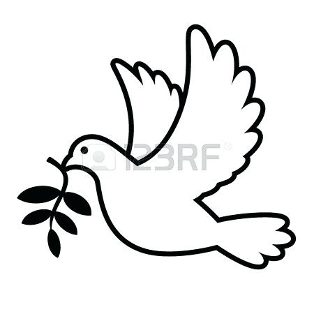 450x450 dove drawings peace dove dove drawing simple