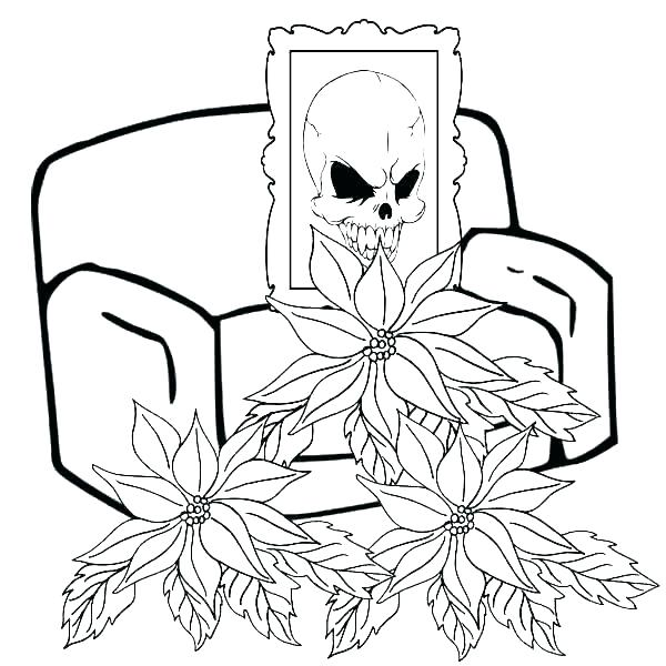 600x600 poinsettia coloring pages poinsettia drawing outline poinsettia