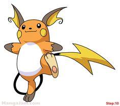 Pokemon 3d Drawing
