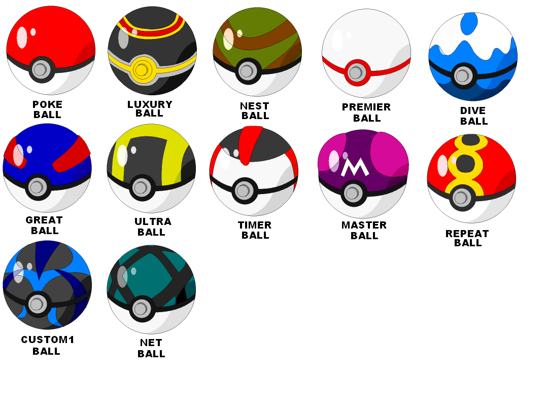 Pokemon Ball Drawing