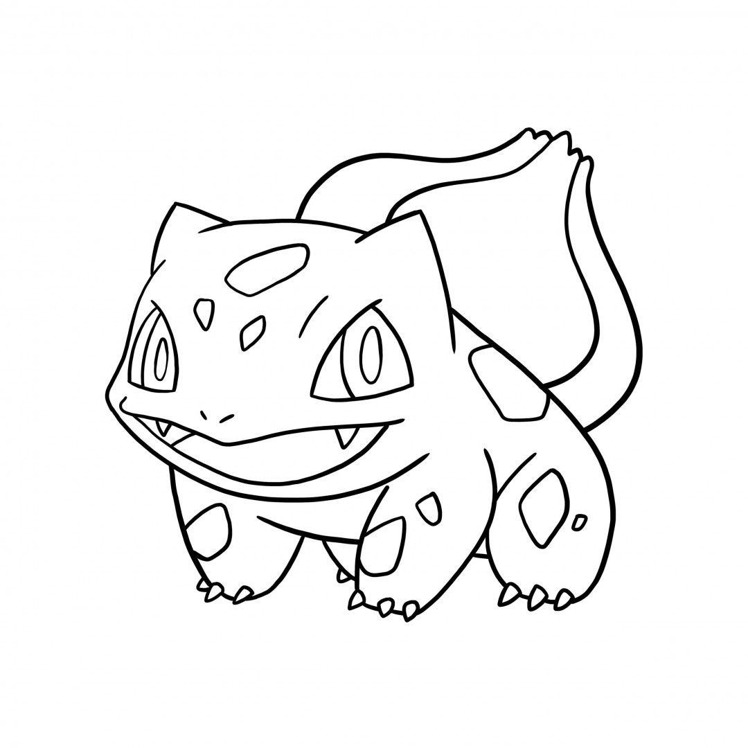 Pokemon Bulbasaur Drawing