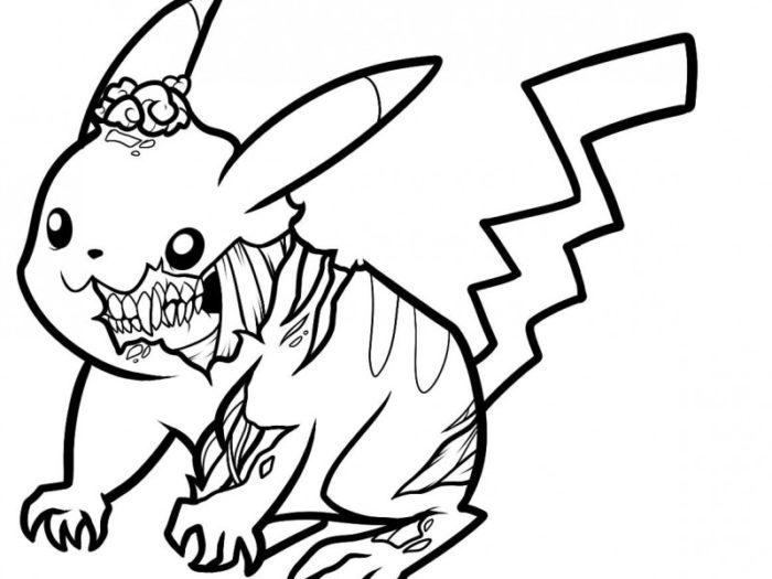 Pokemon Characters Drawing