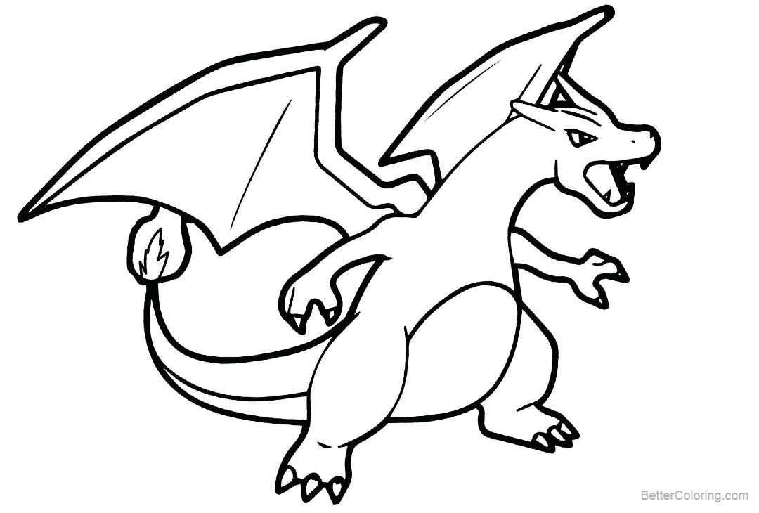 Pokemon Charizard Drawing | Free download on ClipArtMag