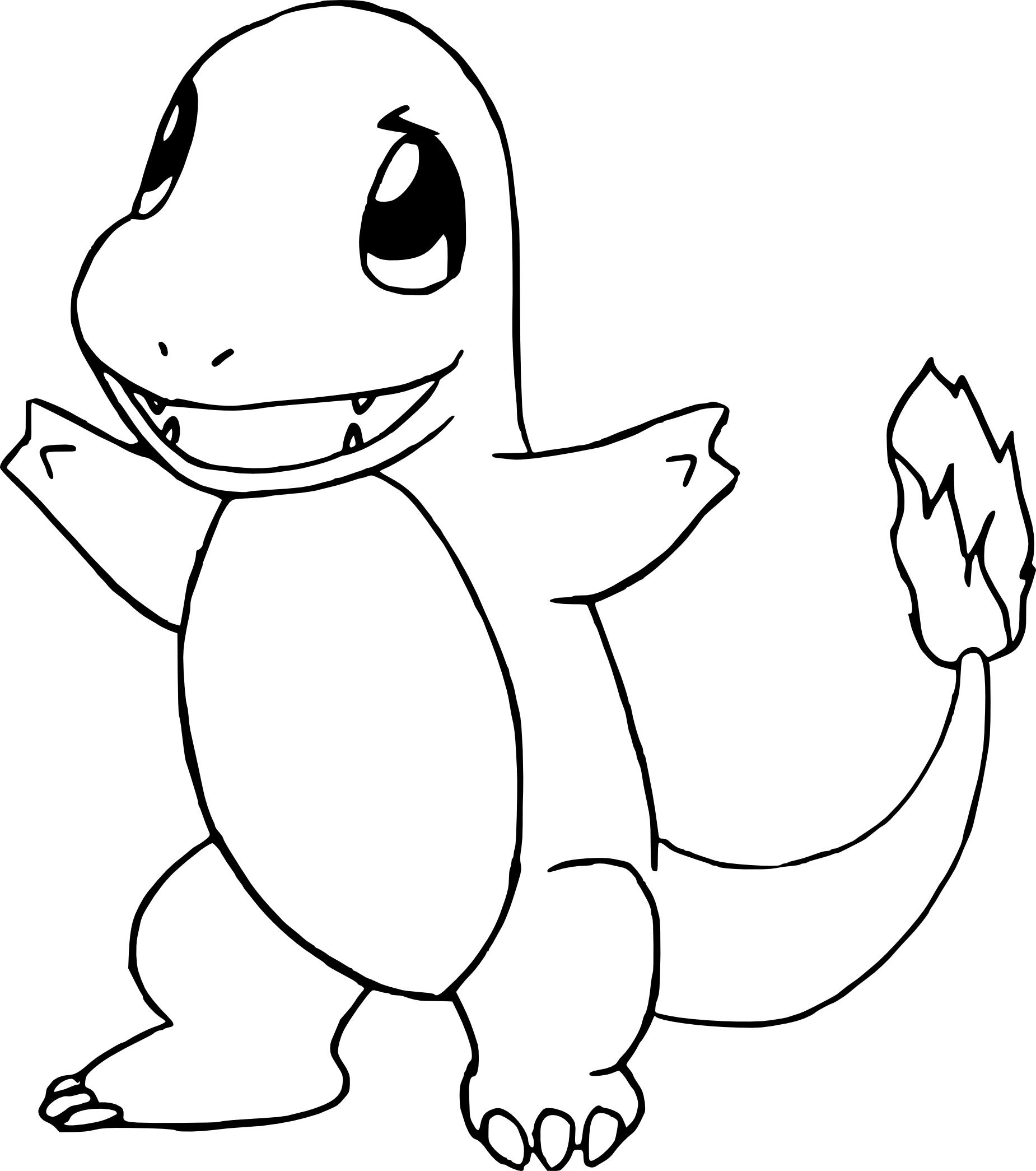 Pokemon Charmander Drawing