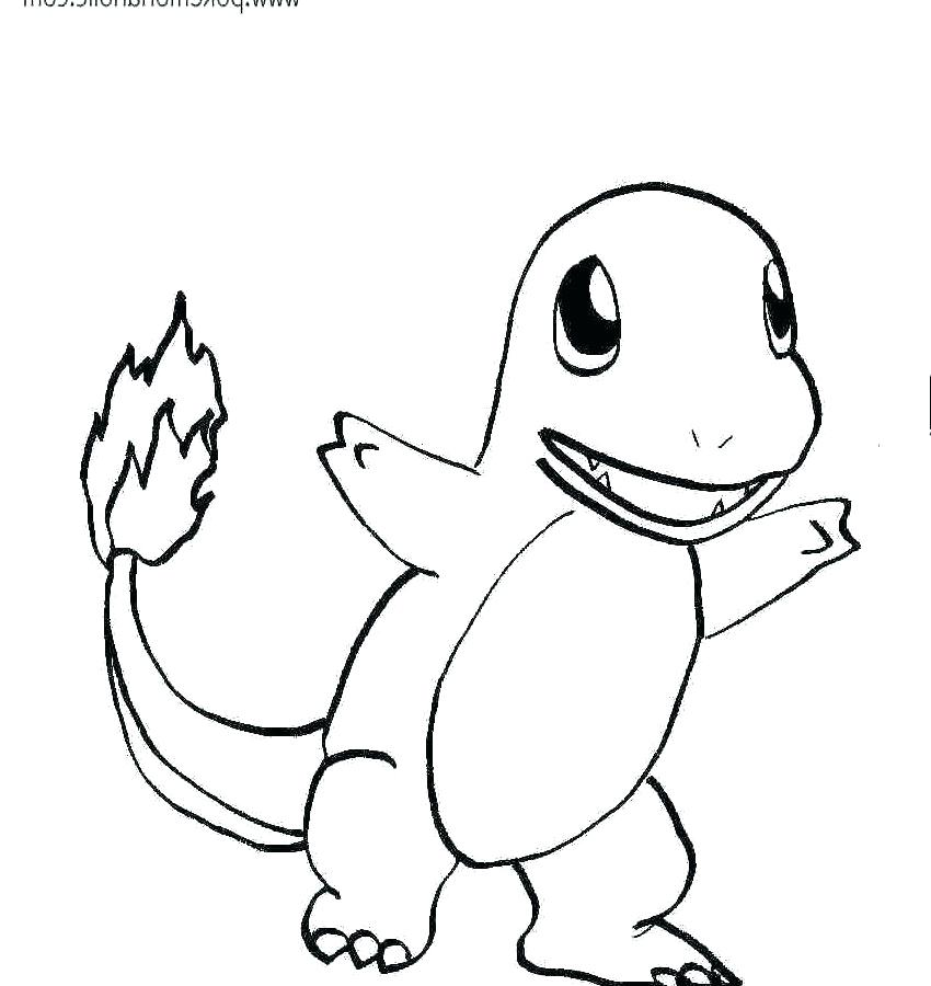 Pokemon Charmander Drawing | Free download best Pokemon ...