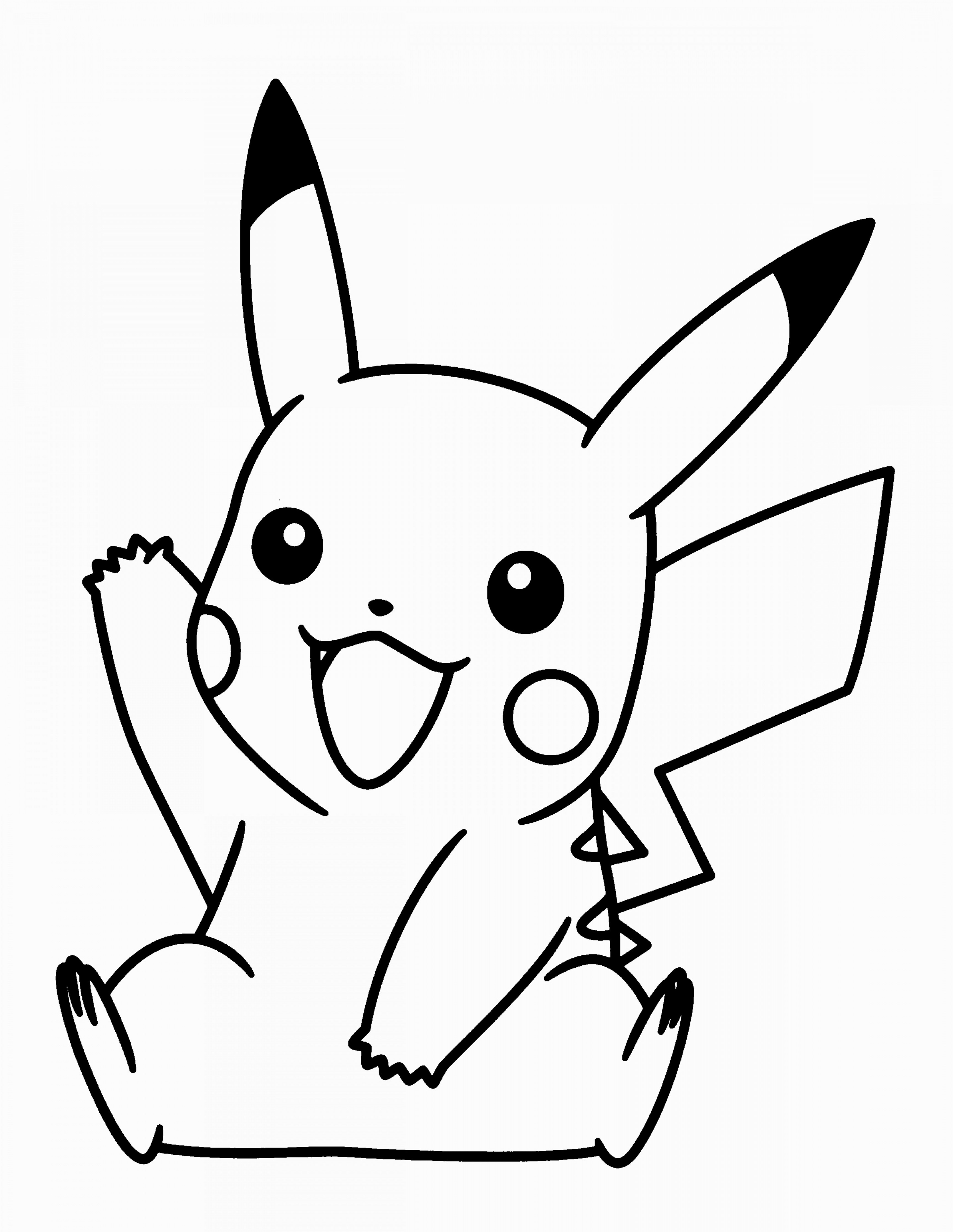 3456x4464 Innovational Ideas Pikachu Outline Free Vector Graphic Pokemon Go