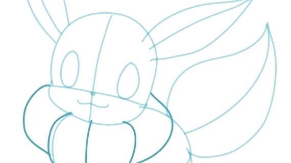 570x320 How To Draw Eevee Pokemon