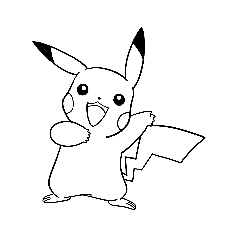 Pokemon Line Drawing