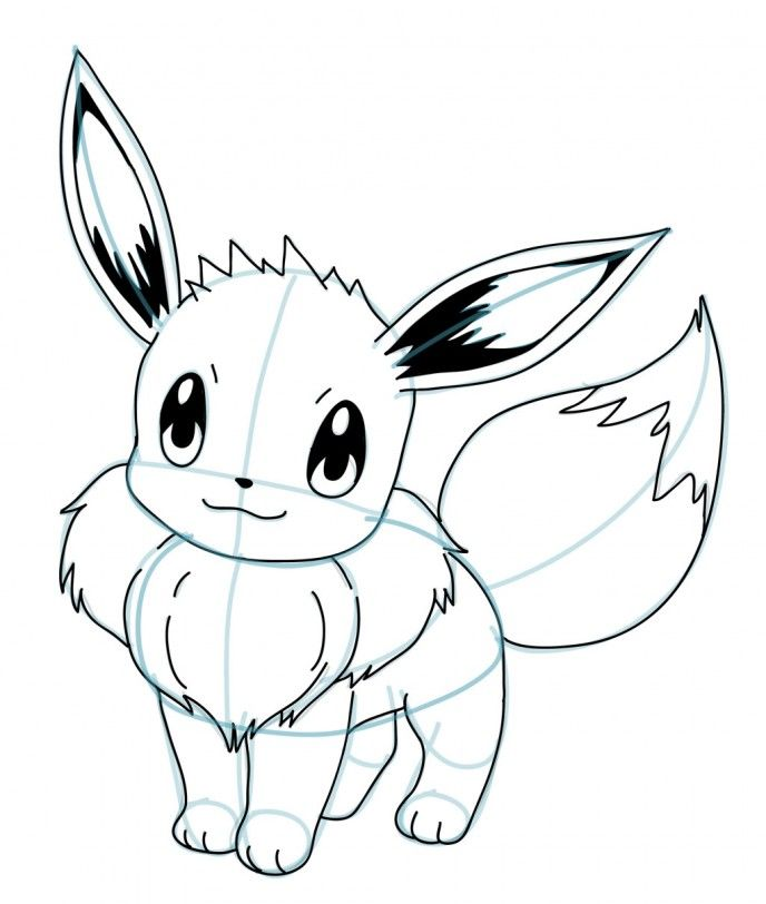 Pokemon Pencil Drawing | Free download on ClipArtMag