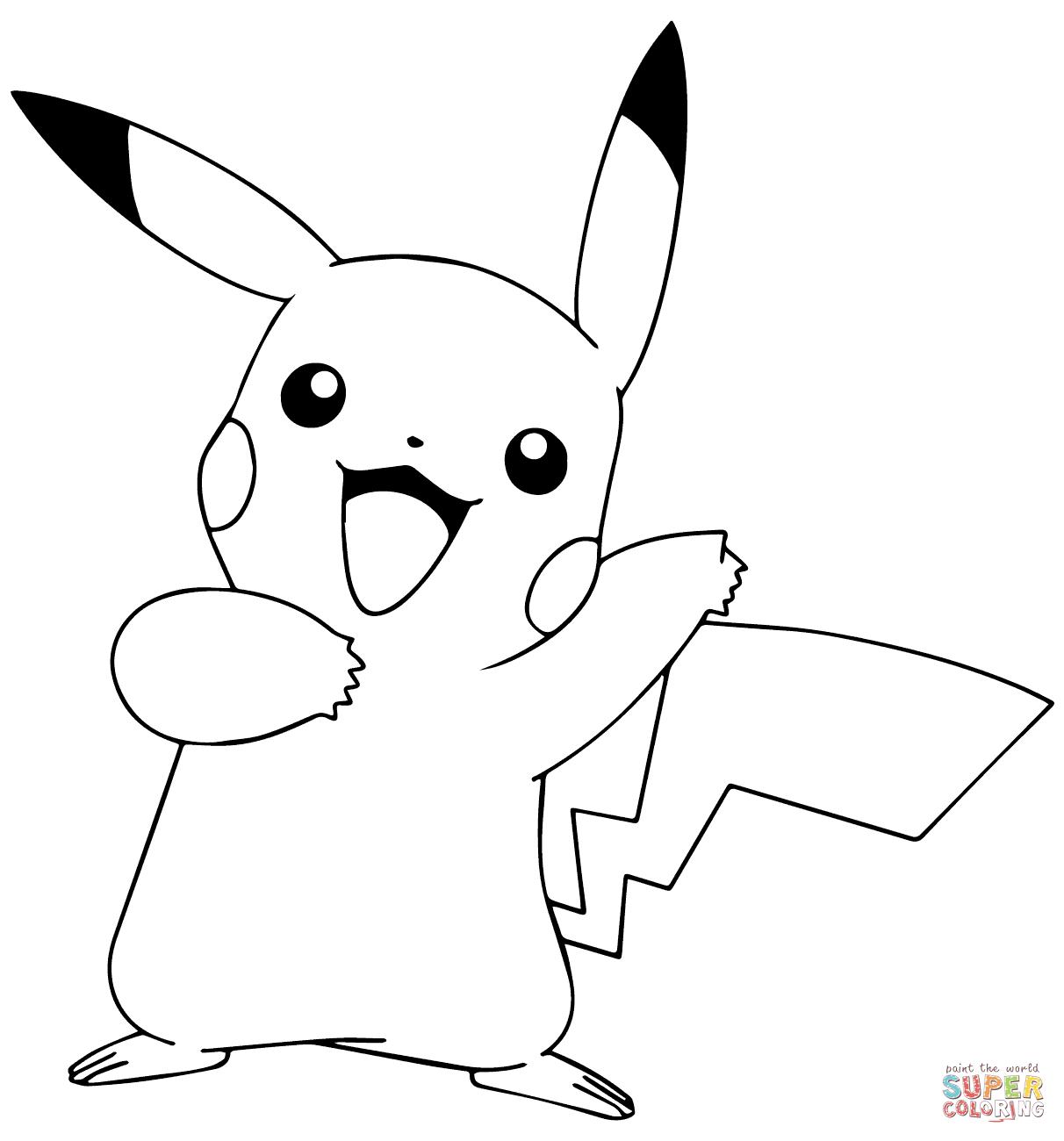 Pokemon Pikachu Drawing