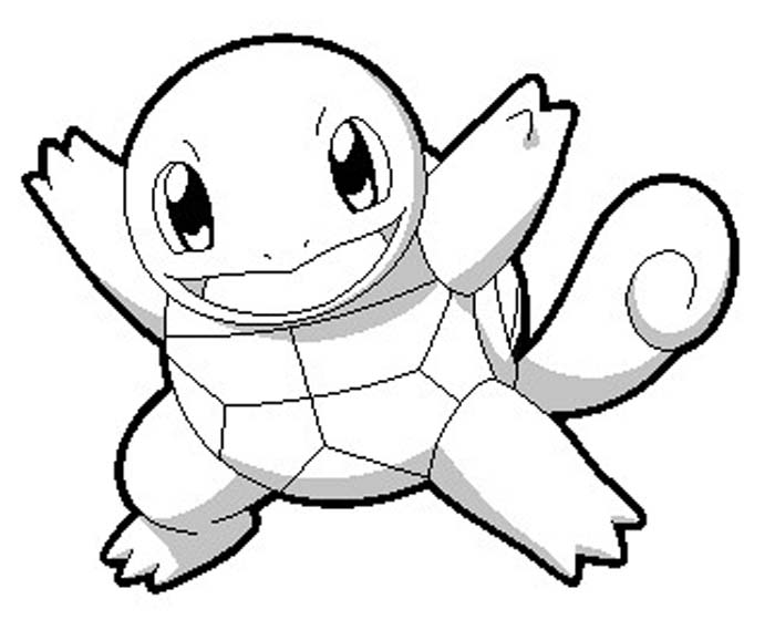 Pokemon Squirtle Drawing