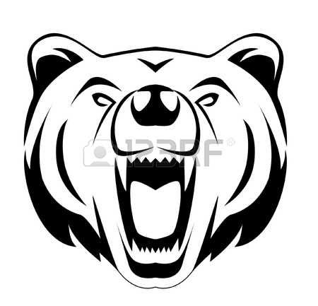 450x433 grizzly bear cliparts, stock vector and royalty free grizzly bear