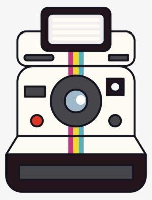 300x394 polaroid camera png, free hd polaroid camera transparent image