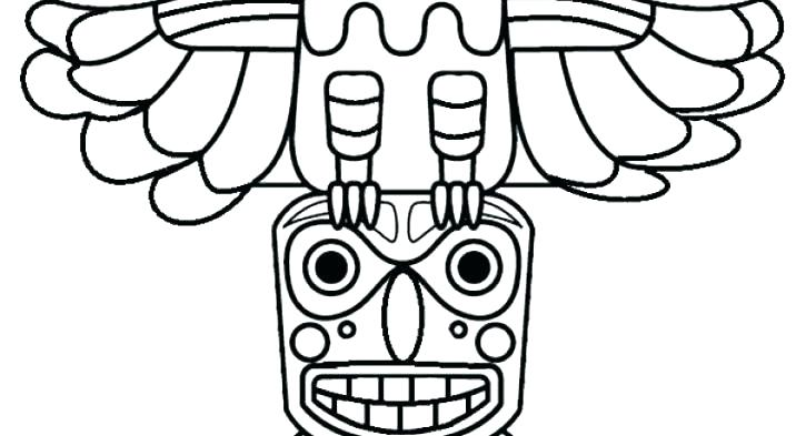 716x393 Kids Drawing Of Totem Poles Coloring