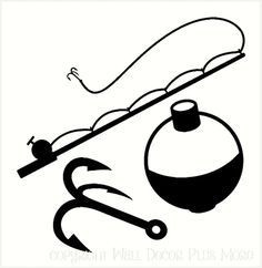 236x242 Man Fishing Silhouette Camera Clipart Best Of Fishing Pole Drawing