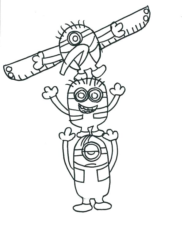 600x751 Cheetah Drawing Totem Pole For Free Download