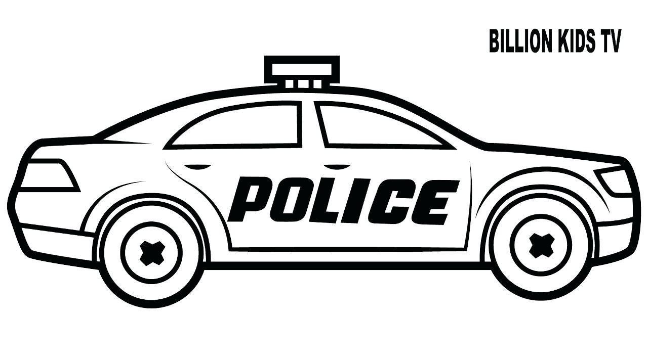 Police Car Drawing Free Download Best Police Car Drawing On
