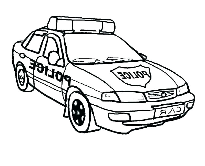 800x649 Classic Muscle Car Coloring Pages Cop Car Coloring Pages Police