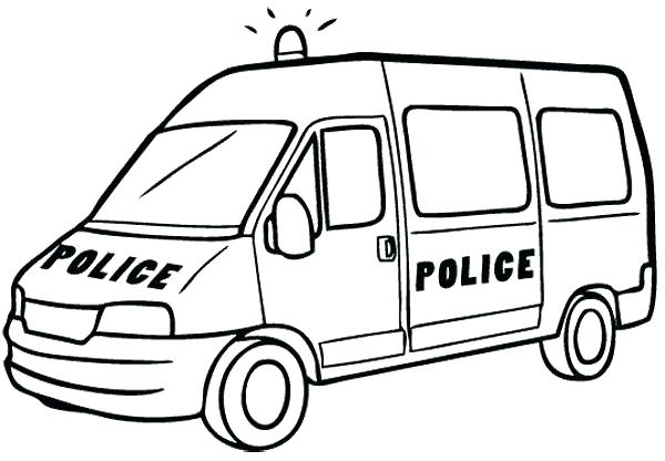 600x416 Coloring Pages Of Police Cars Police Car Coloring
