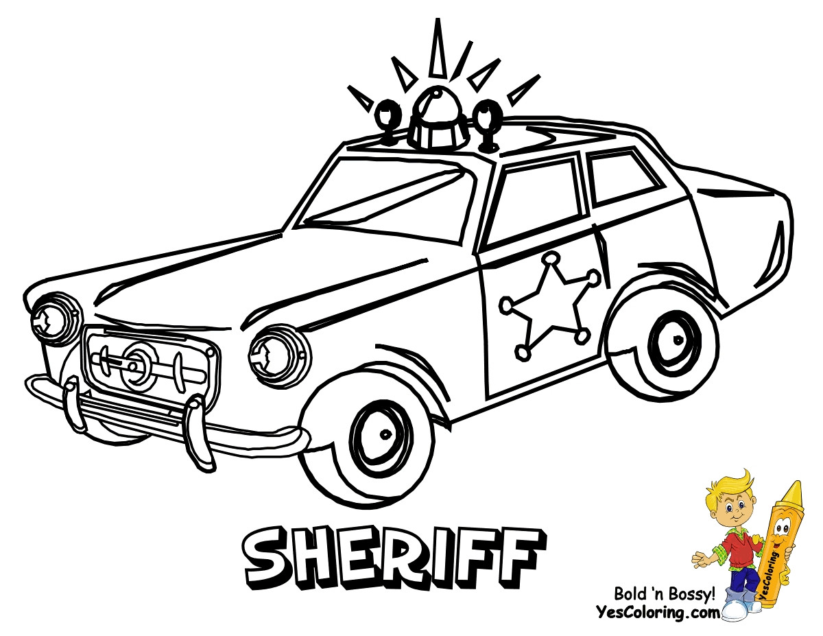 1200x927 Cop Car Coloring Pages Police Line Drawing At Getdrawings Com Free