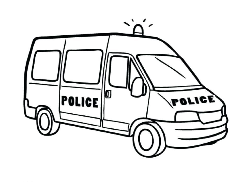 960x716 Free Printable Police Car Coloring Pages