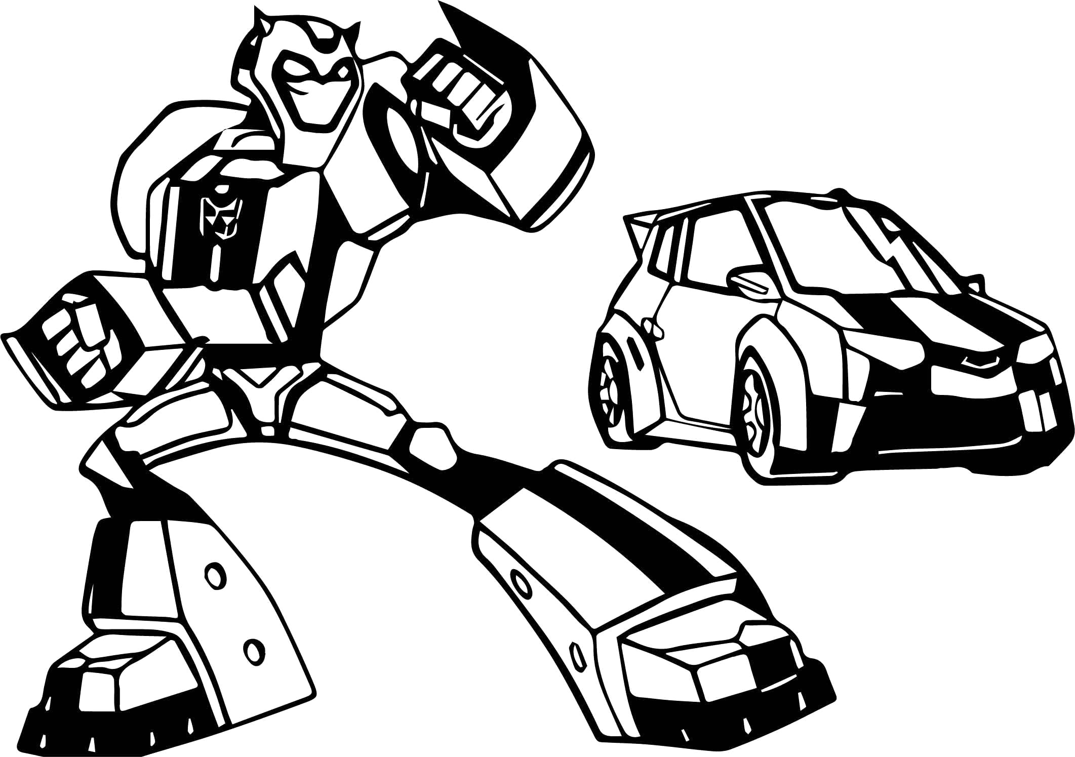 2123x1495 Transformers Coloring Police Car Pages