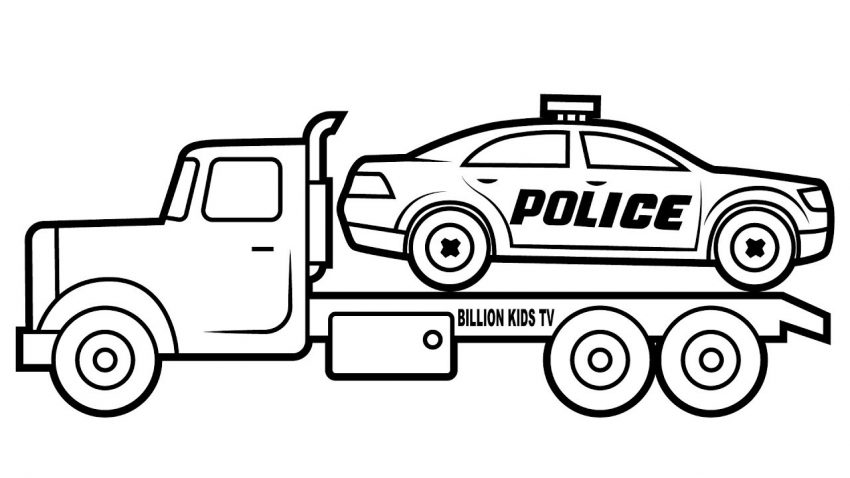 850x478 Unlimited Car Coloring Book Police Learning Co Enormous Pages