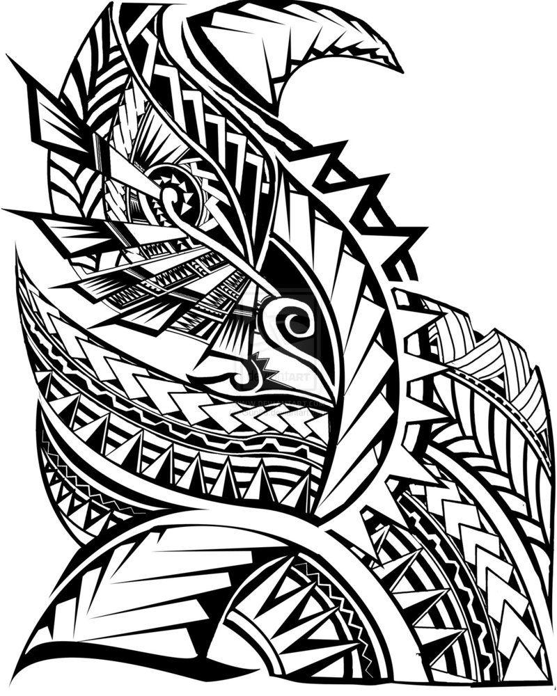 Polynesian Tattoo Drawing Free Download Best Polynesian