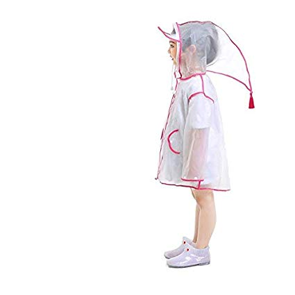 425x425 jyjsym children's raincoat transparent poncho