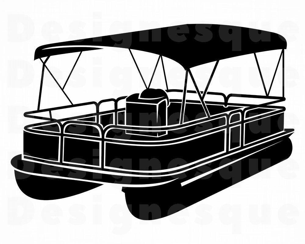 1000x800 pontoon boat pontoon boat pontoon boat clipart etsy